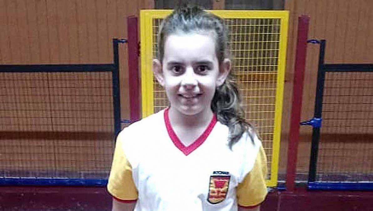 Guadalupe Bolobanich es la más pequeña jugadora de Rivadavia.