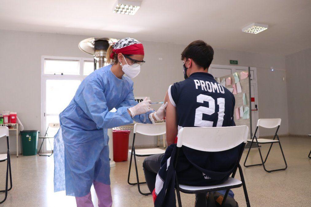 Este martes pasaron por el vacunatorio de la UTN 1.364 personas. Se colocaron dosis de Moderna