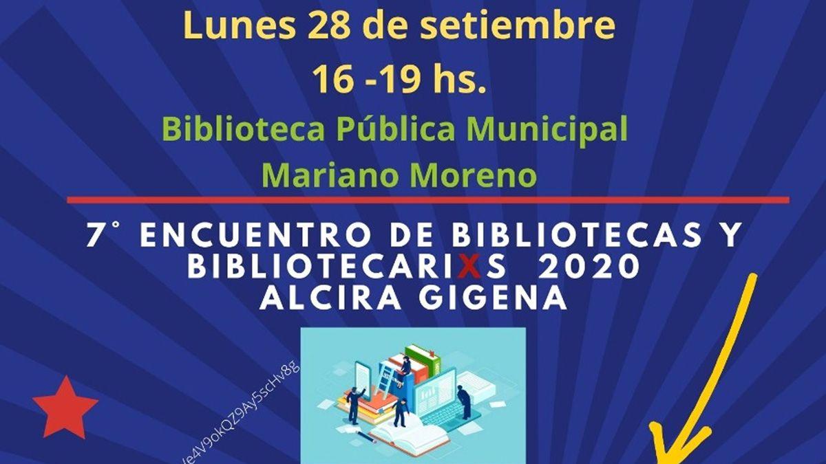 Alcira Gigena: más de 200 inscriptos de toda Latinoamérica para el séptimo encuentro de bibliotecas