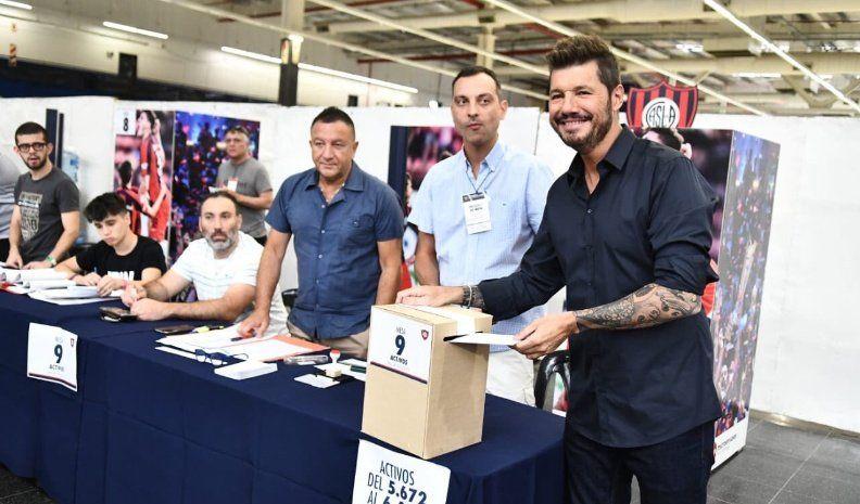 Tinelli es el nuevo presidente de San Lorenzo