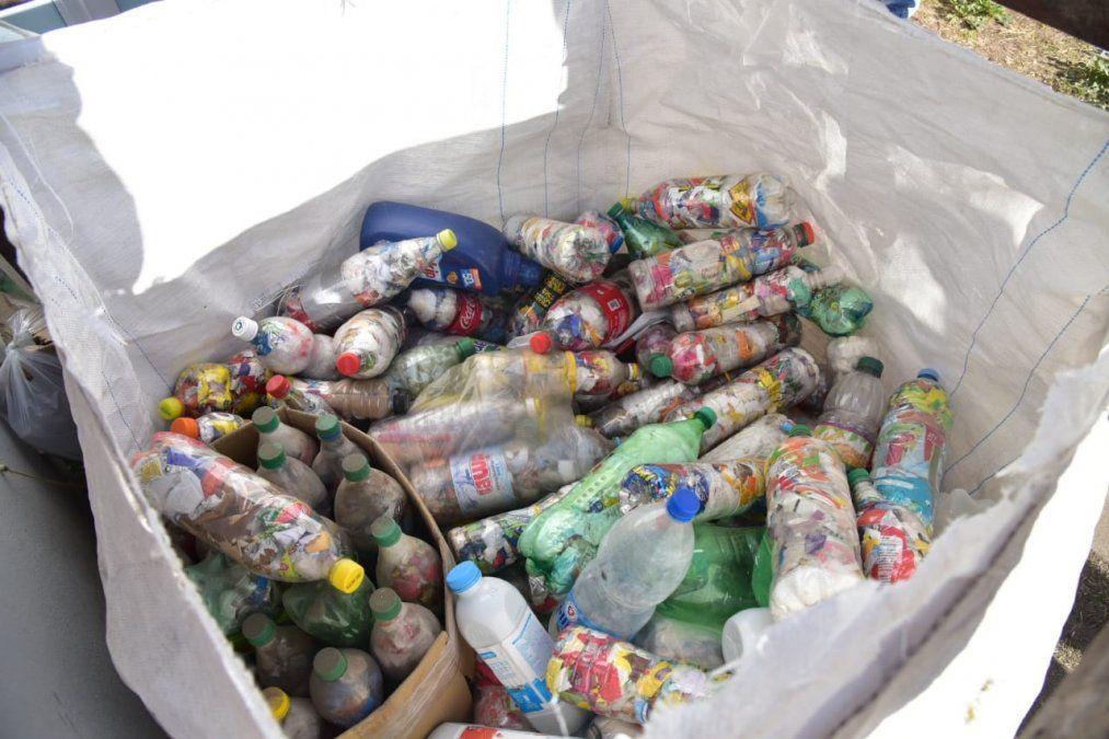 El Municipio recolectó 400 kilos de material reciclable