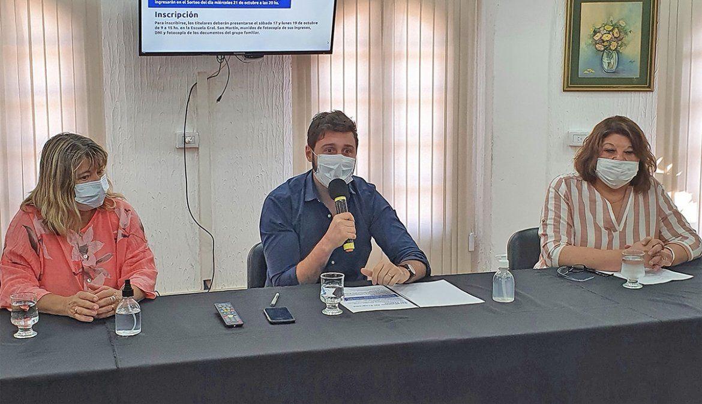 Asignan a General Deheza diez viviendas del plan Argentina construye