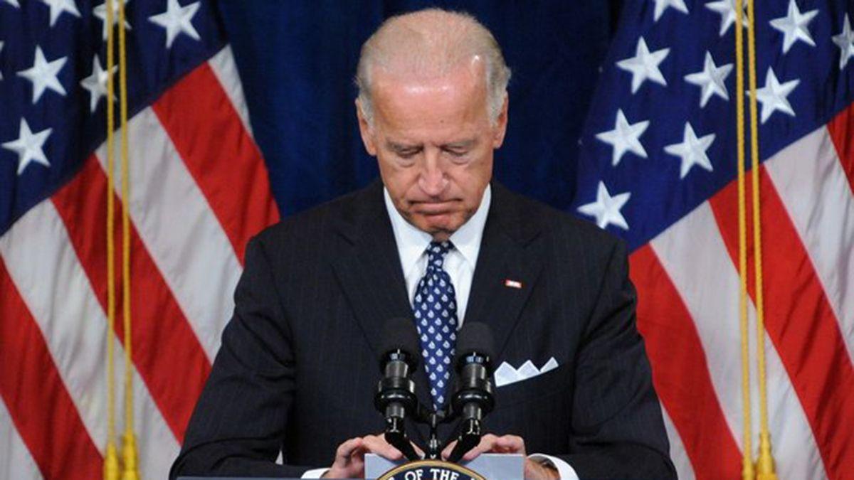 Biden subrayó que esto representa un código rojo para la humanidad.