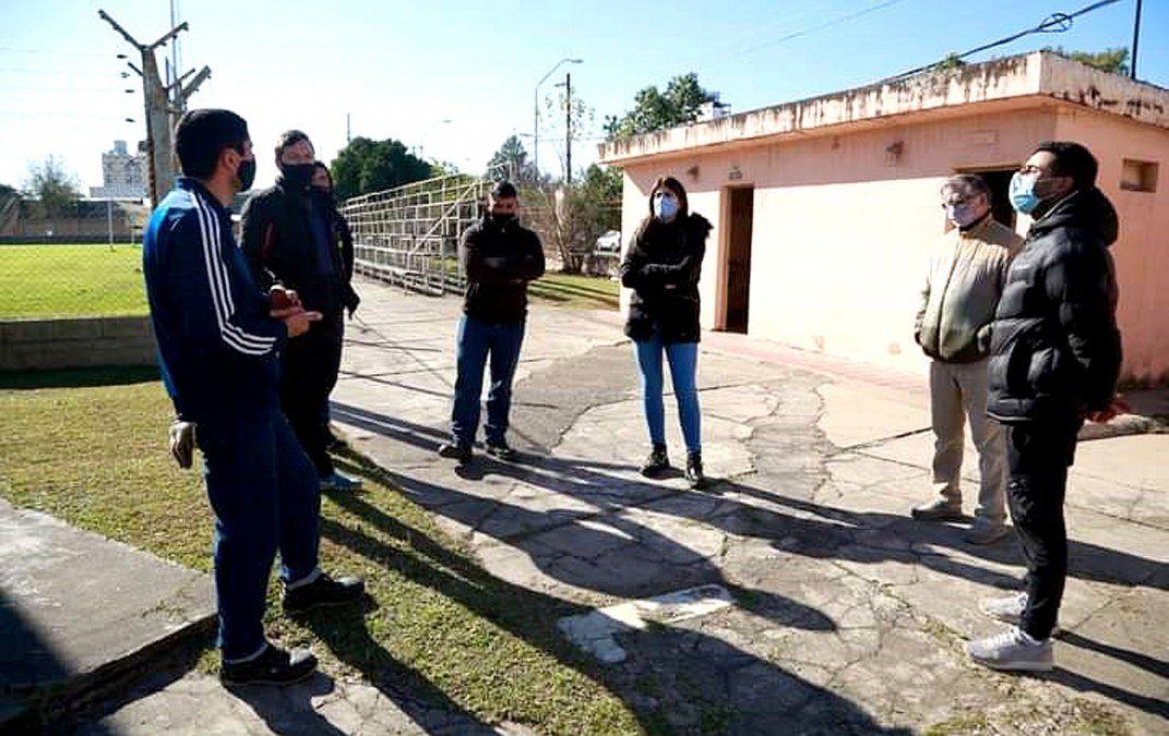 Las máximas autoridades de Villa María Deporte y Turismo