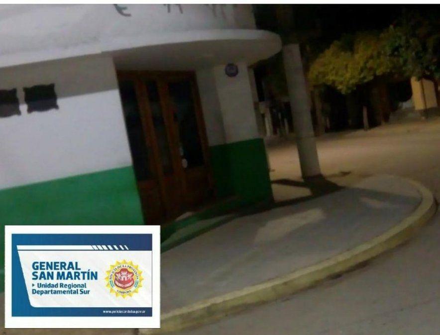 Este domingo hubo procedimientos por fiestas en Arroyo Cabral y en Villa Nueva.