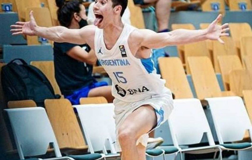 Heroé. Gonzalo Corbalán metió tres puntos de oro para que Argentina esté entre los 8 mejores.