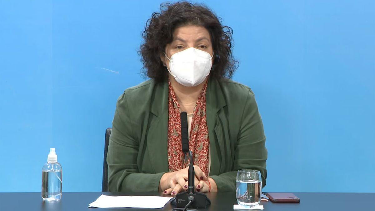Vizzotti: La situación es delicada; el sistema de salud esta en tensión