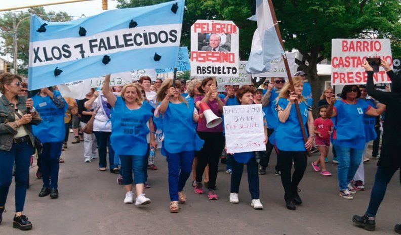 Río Tercero: Marcharon a 23 años de la voladura de la Fábrica Militar