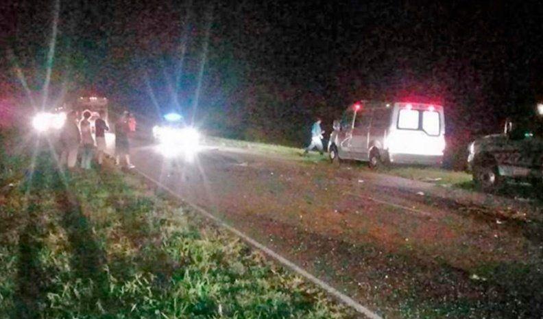 Murió tras chocar de atrás a un camionero de Mackenna