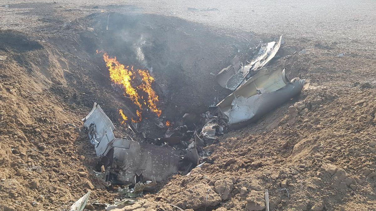 El peor fin: murió el piloto que se había eyectado de un avión militar