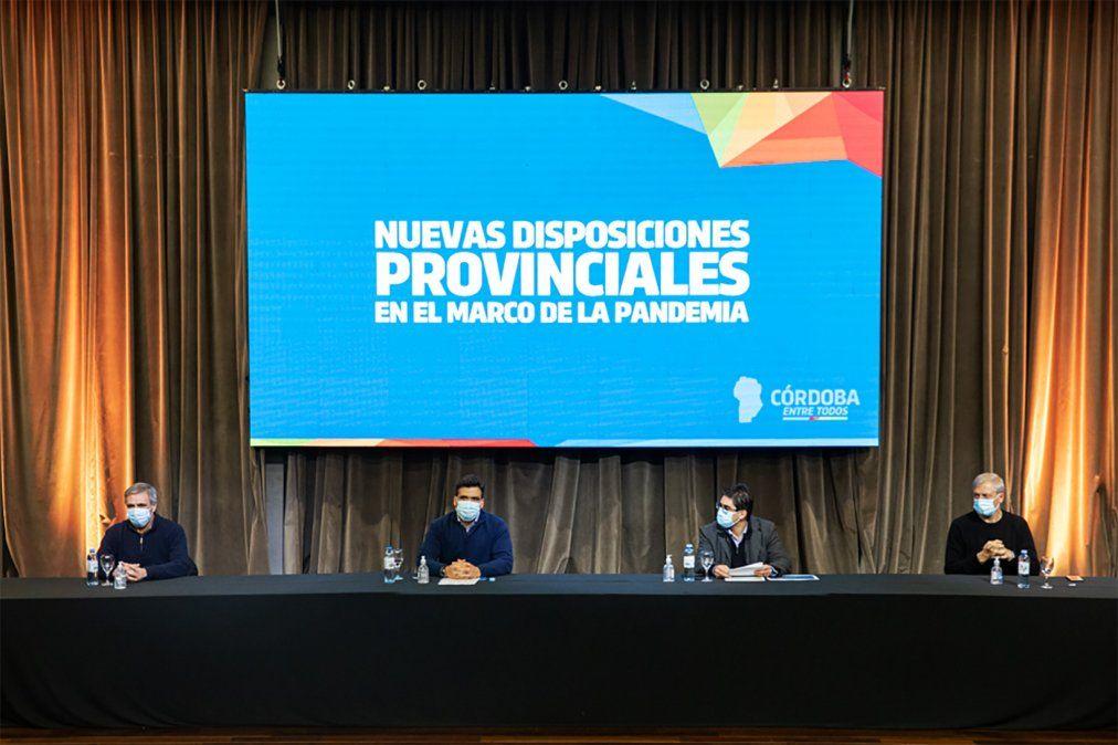 Anuncian las nuevas disposiciones provinciales.