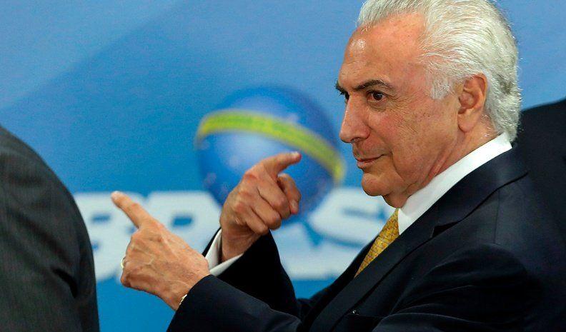 Temer militariza el estado de Río de Janeiro
