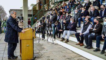 Llovieron fuertes críticas al gobierno nacional en la inauguración ruralista