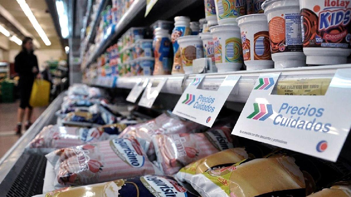 El programa de Precios Cuidados no logra revertir la fuerte suba en el precio de los alimentos.