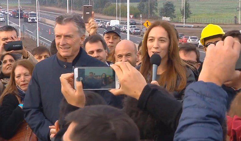 Macri insiste en que los que trabajan en la cadena logística deben respetar a los demás