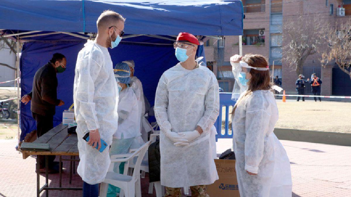 Río Cuarto registró 5 contagios y la provincia informó 399 nuevos casos de Covid-19