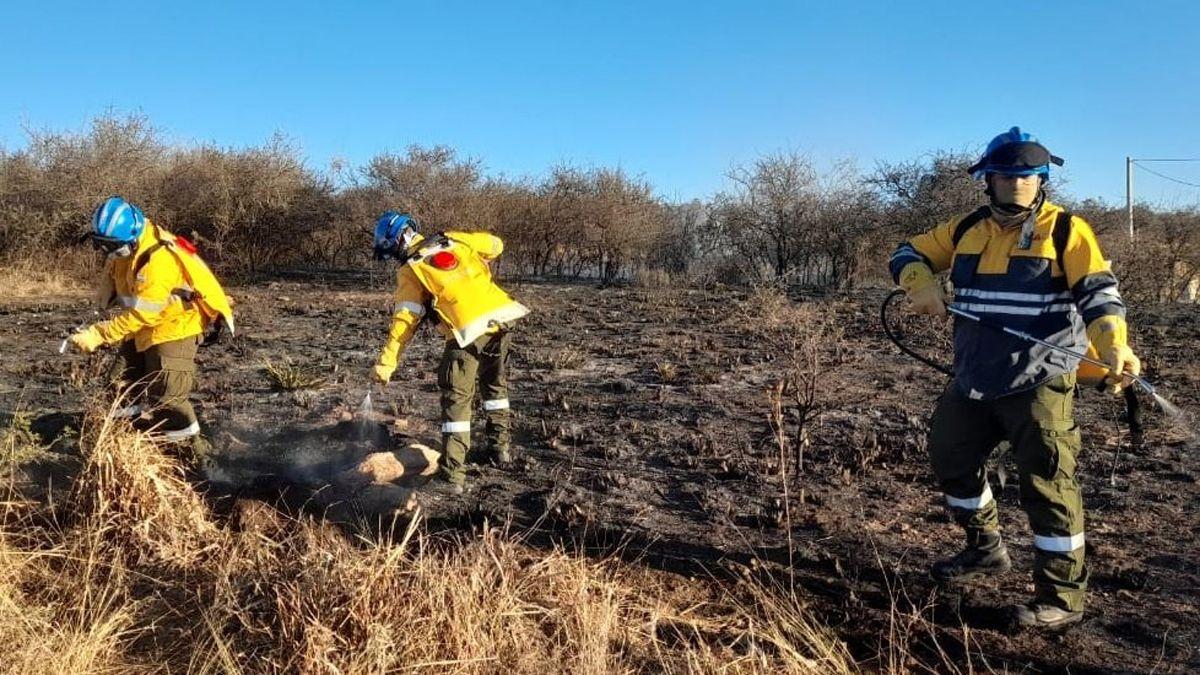 El índice de riesgo de incendios es extremo en la provincia de Córdoba.