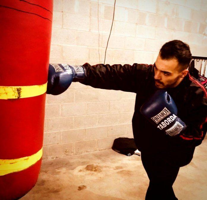 Últimos guanteos. Juan Manuel Taborda se subirá al ring luego de un año y medio.