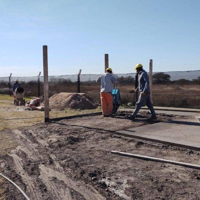 Iniciaron las obras en sede Villa del Rosario