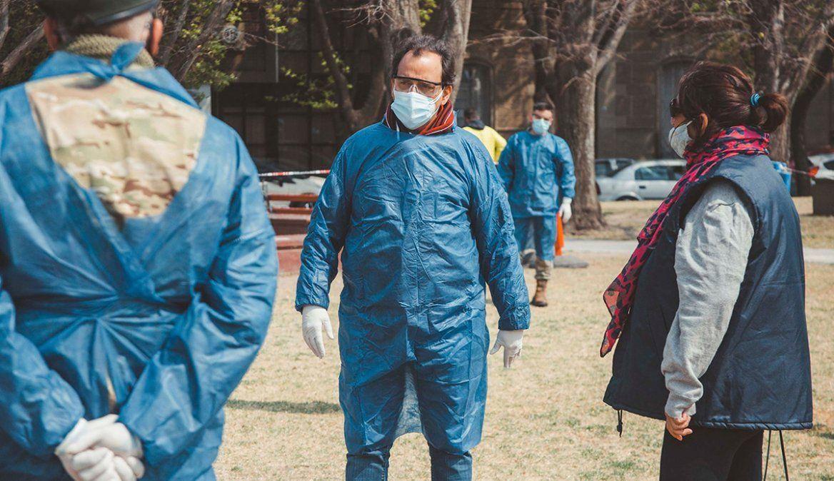 La provincia registró 550 contagiados