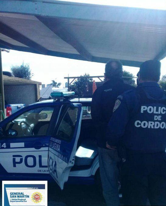 La Laguna: dos hombres detenidos por trasladar un animal faenado