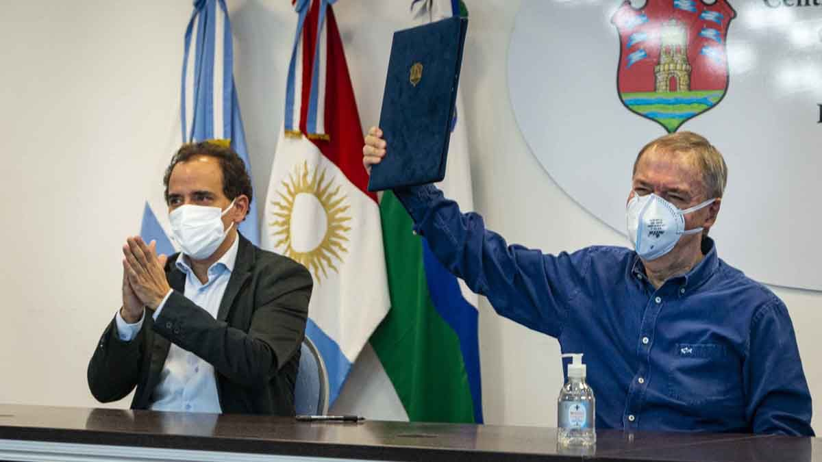 Juan Schiaretti anunció obras de infraestructura para la ciudad