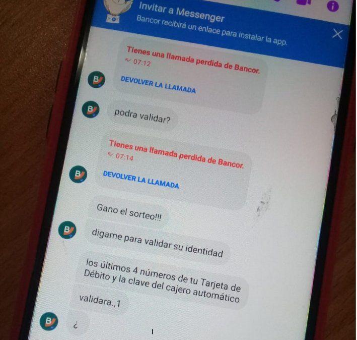 Vecino alerta sobre estafa telefónica con la promesa de un premio en efectivo