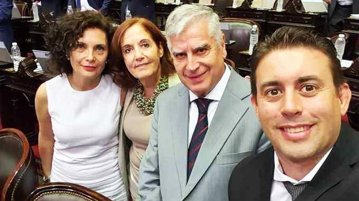 Los diputados Alejandra Vigo