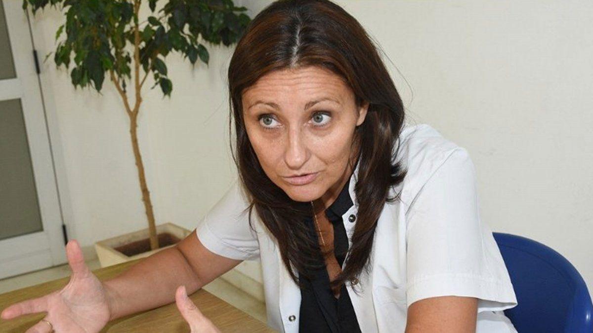 La infectóloga y vicedirectora del Hospital San Antonio de Padua