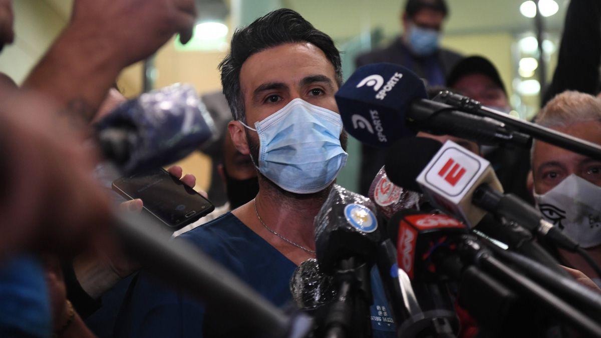 El médico Luque destacó que la operación fue exitosa.