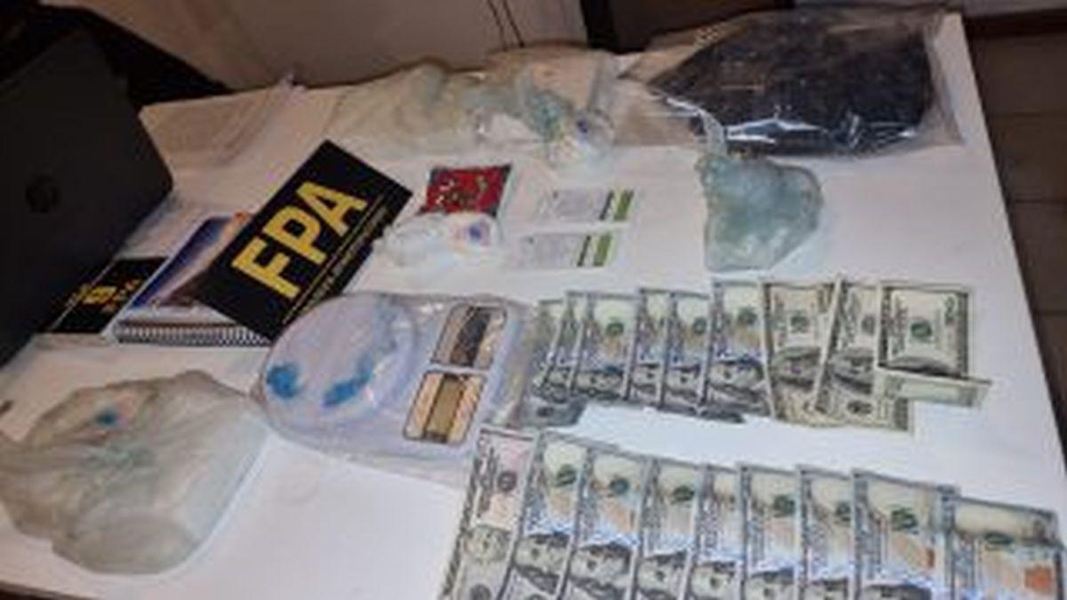 Secuestraron 14.000 dosis de cocaína