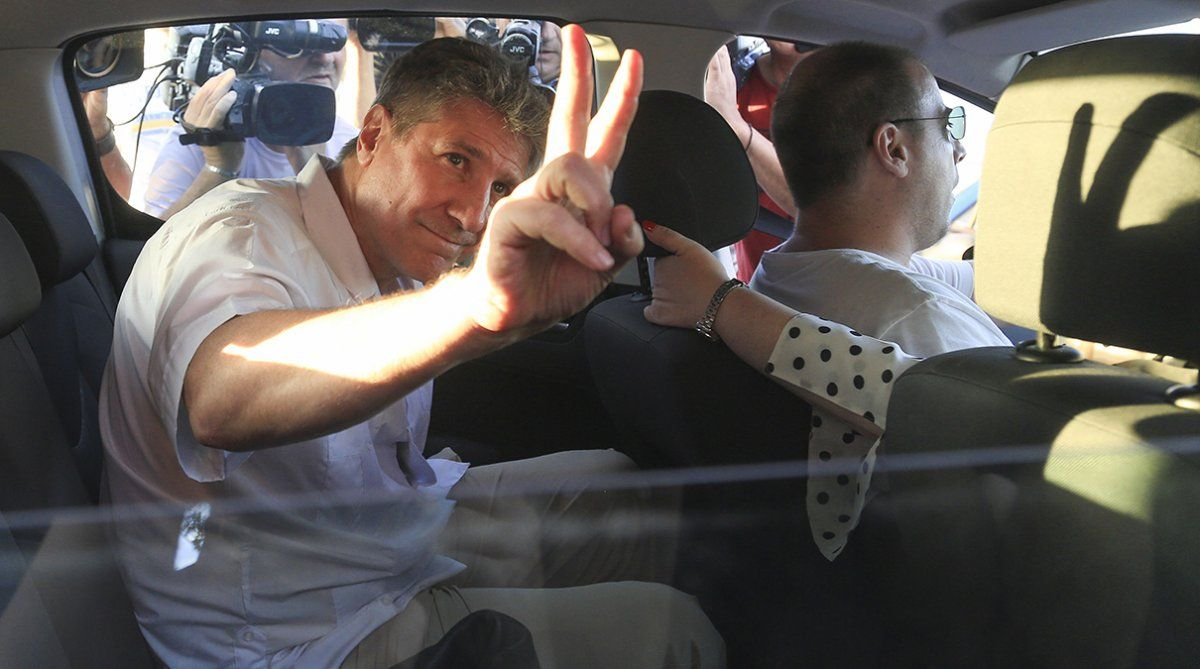 Boudou cumplió las dos terceras partes de su condena de cinco años y diez meses de prisión.