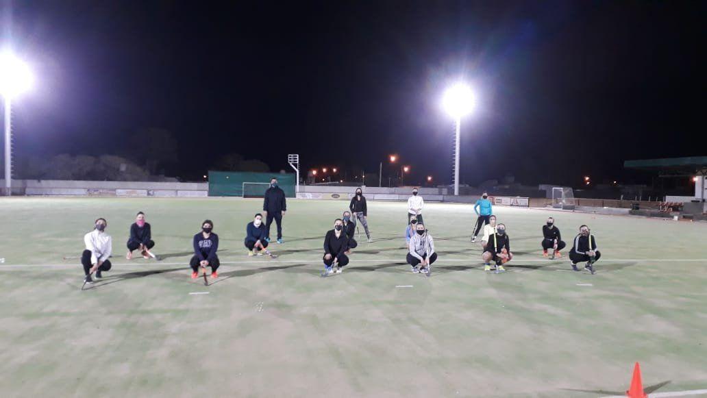 Hockey: Jockey Club volvió a los entrenamientos dentro del campo