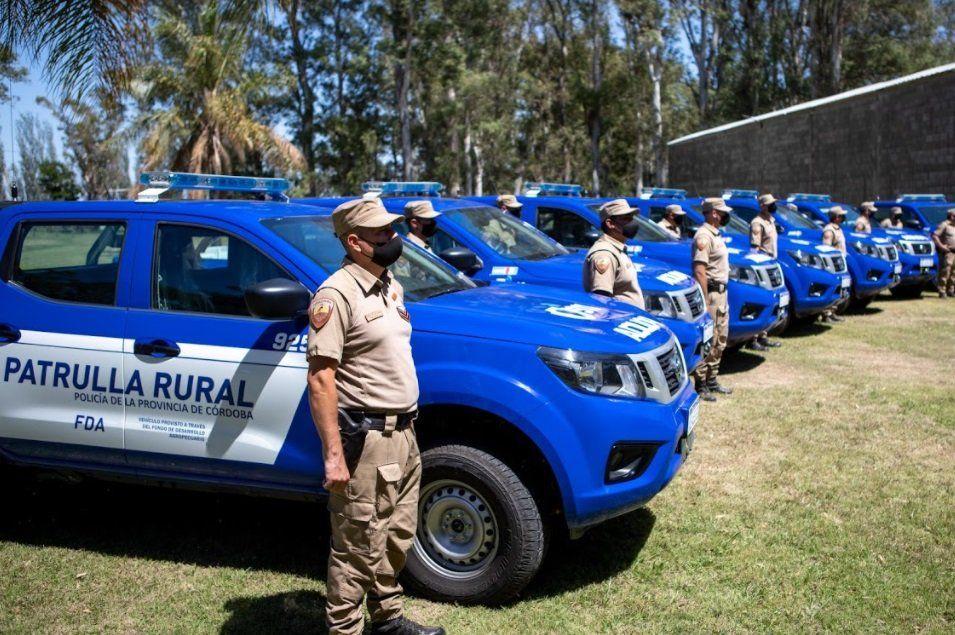 Se entregaron 15 vehículos para la prevención de delitos rurales