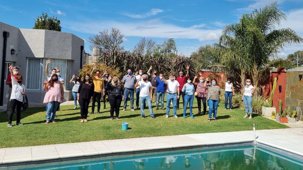 En Bulnes, la UCR Departamental  reunió a todos sus dirigentes