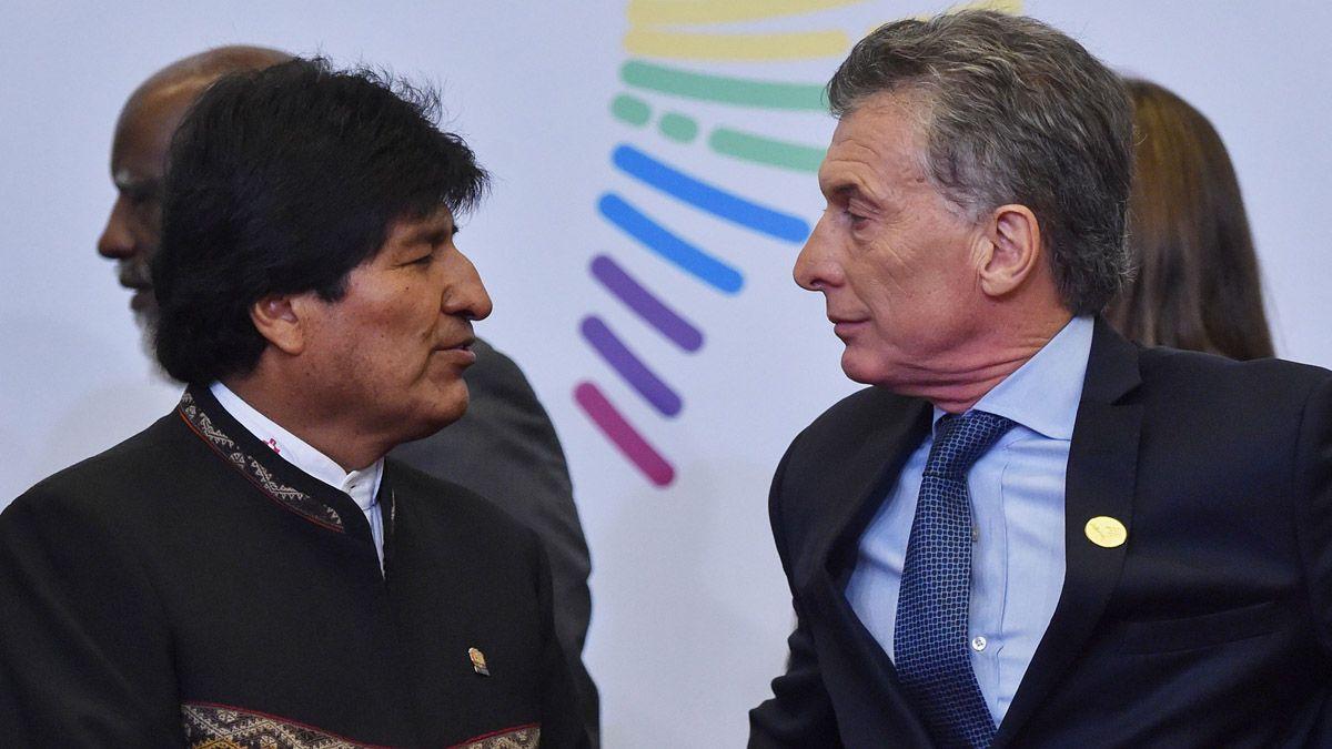 El Gobierno formuló la denuncia contra Macri por el envío de material represivo a Bolivia.