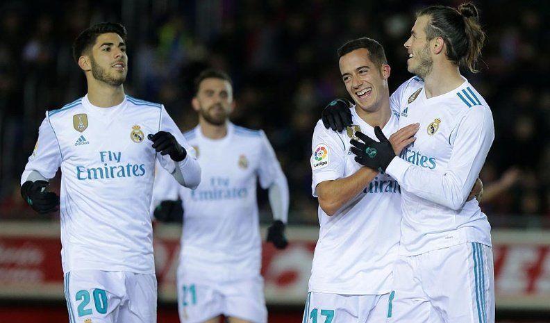 Real Madrid derrotó al Leganés