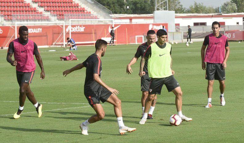 El Sevilla quiere entrar a la fase de grupos