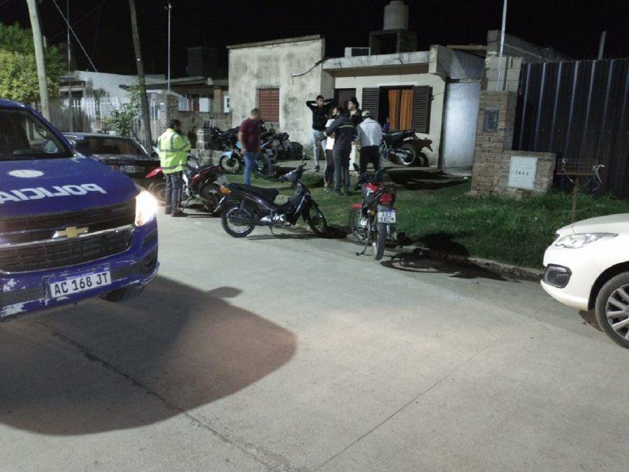 Desactivaron fiesta clandestina con 80 asistentes en el Nicolás Avellaneda