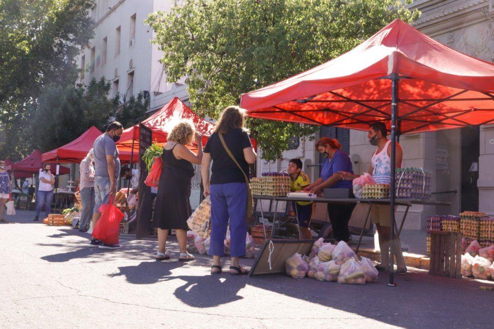El sábado regresa la Feria Franca frente al Municipio