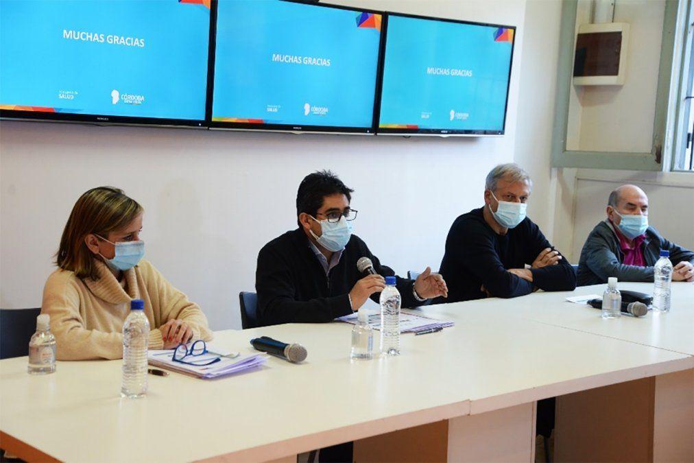 El ministro Cardozo habló ayer de cómo sigue el plan de vacunación.