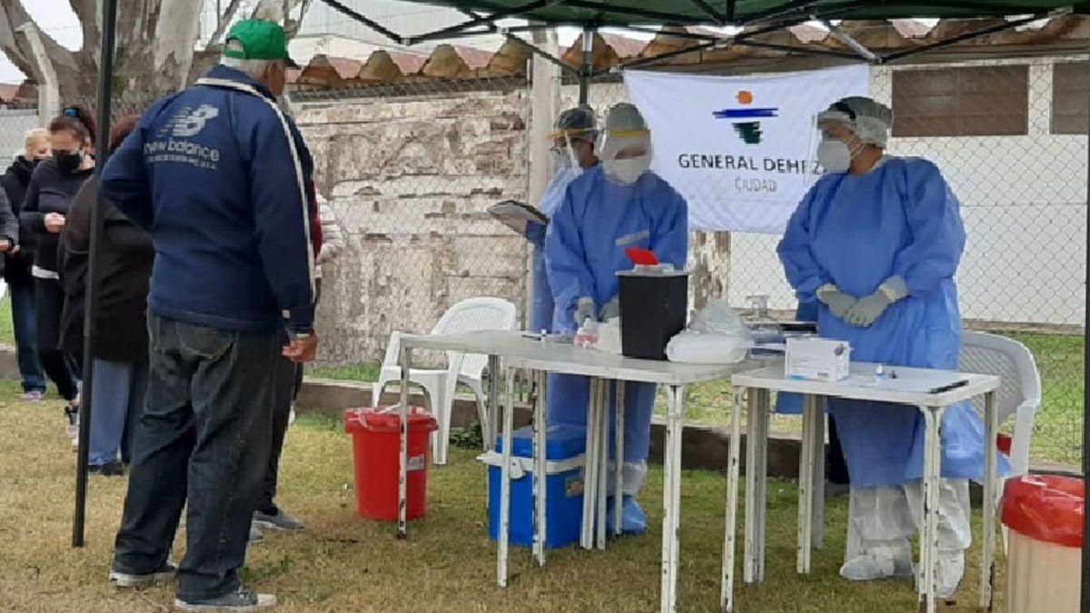 General Deheza logró reducir la tasa de contagios por Covid-19