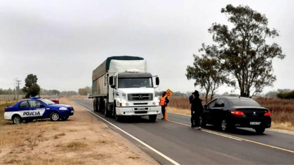 Un camionero de Charlone dio positivo a un test rápido en Buchardo