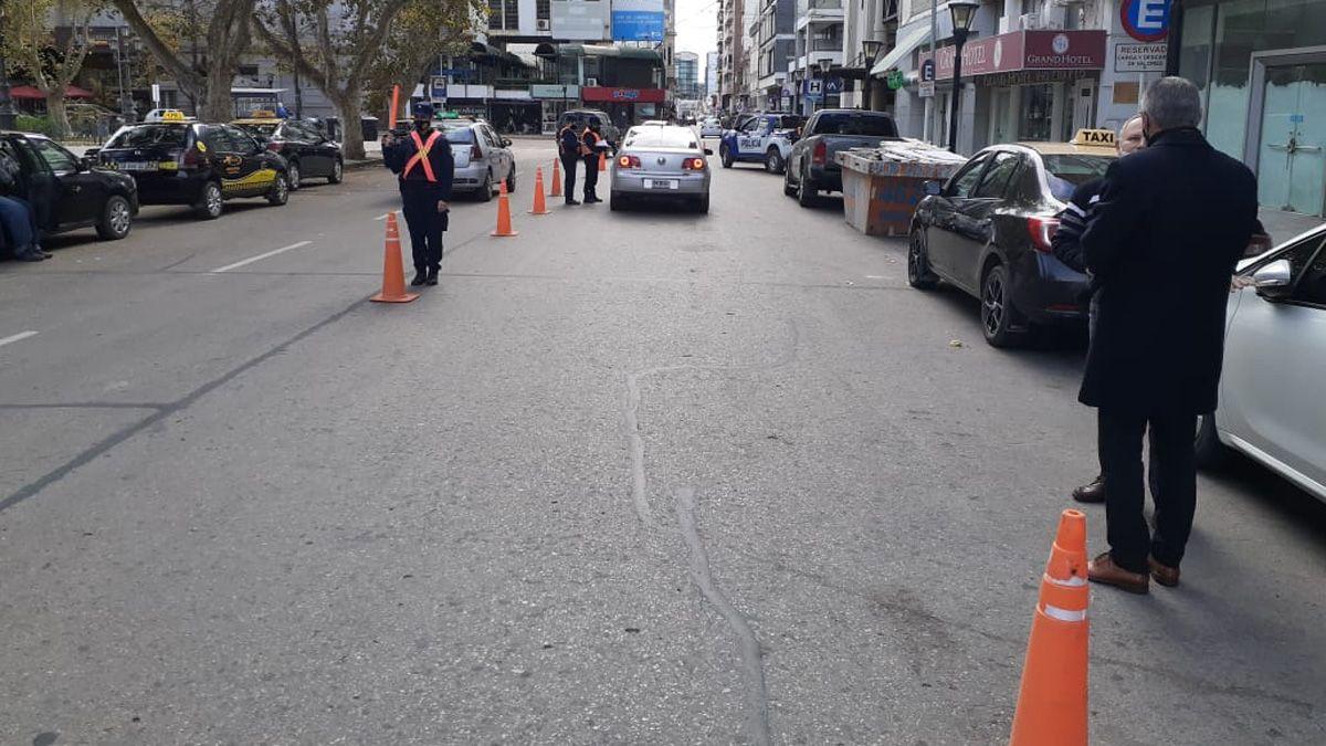Por la alta circulación, refuerzan los controles diurnos en la calle