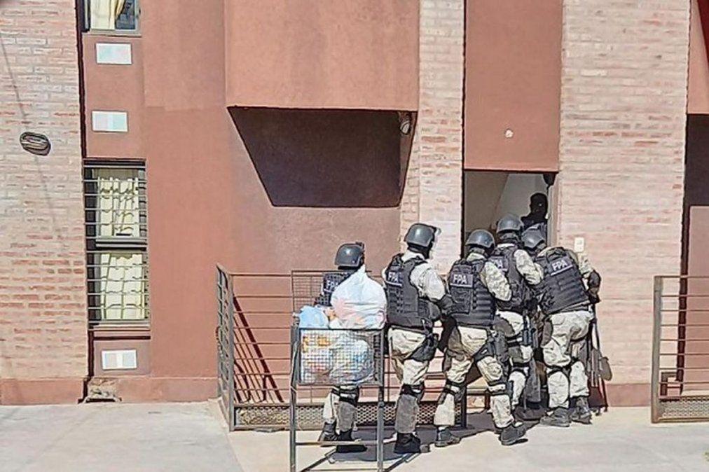 Fue detenida la jefa de Policía Antinarcotráfico.