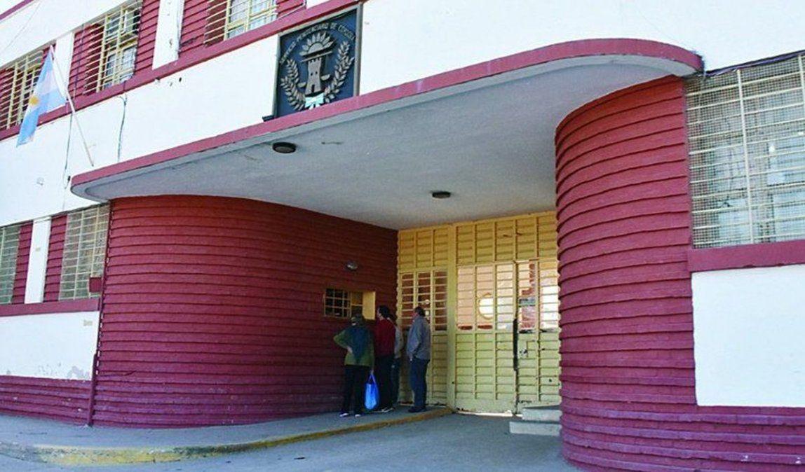 La entrada del Establecimiento Penitenciario ubicado en barrio Belgrano