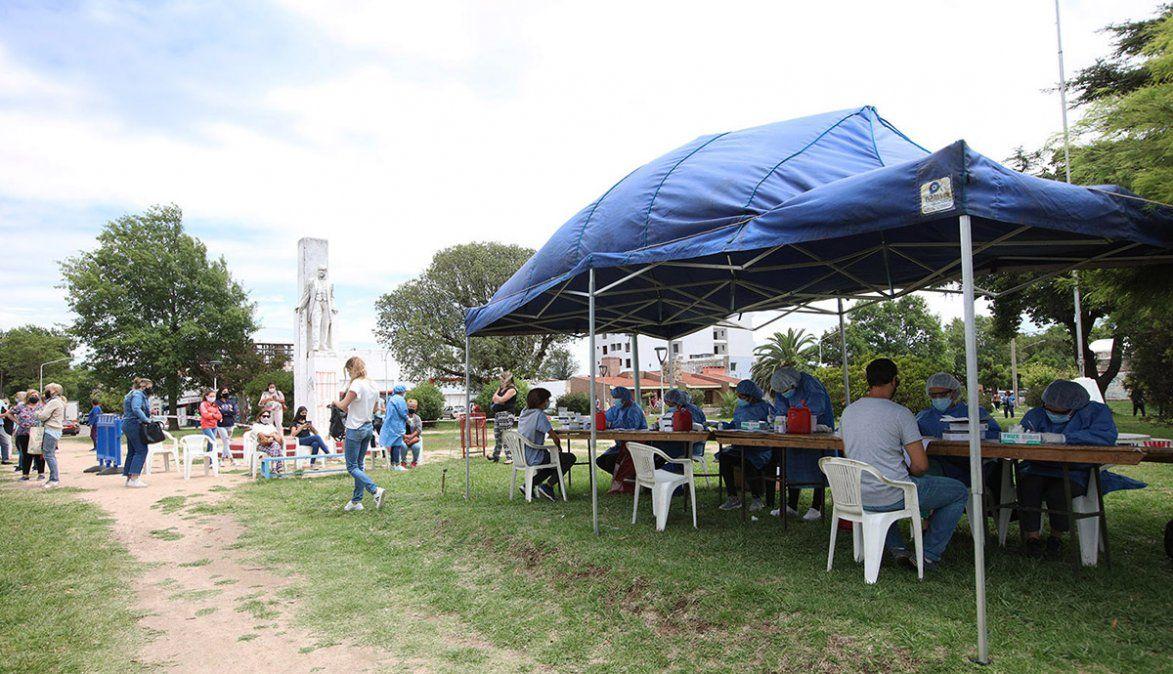 En Río Cuarto, amplían los testeos a 1.500 por día por el rebrote