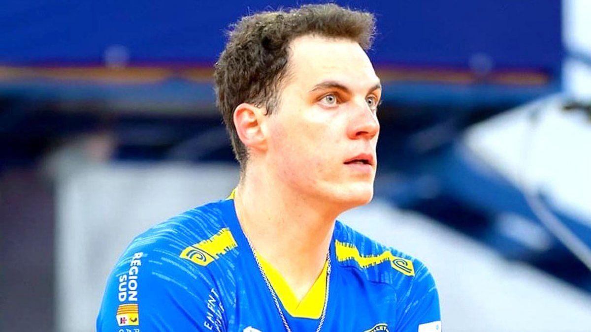 Matías Giraudo comenzó el sueño olímpico. Nuevamente Marcelo Méndez confió en su calidad.