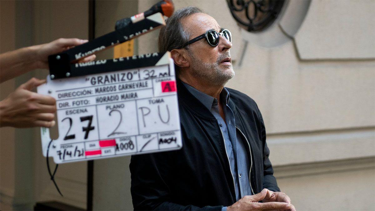 Guillermo Francella llegó a Córdoba para filmar Granizo.
