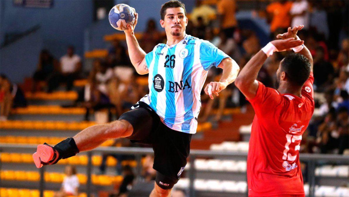 Simonet, máxima figura del seleccionado argentino de handball, jugará después  de seis meses